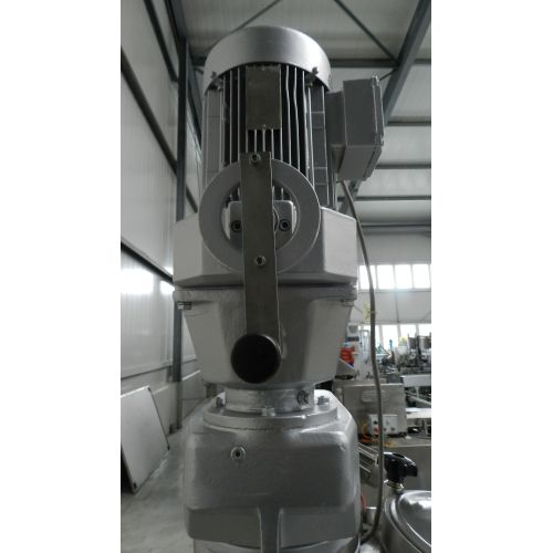 Tank with Agitator 500 Liter Pressure Resistant in V4A,