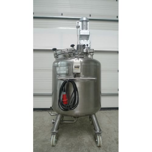 Tank with Agitator 580 Liter Pressure Resistant in V4A,