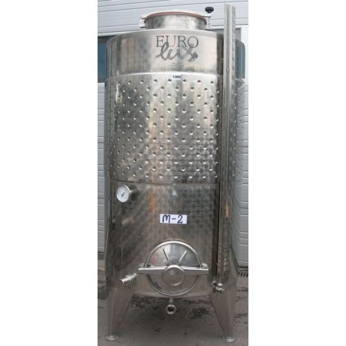 Storage Tank in AISI 304, 1000 litres,