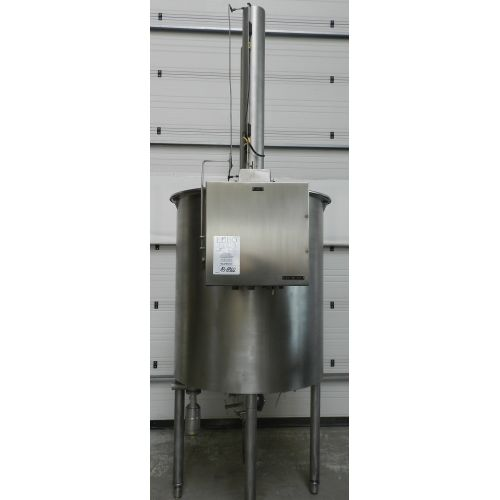 APV dairy tank HCS-1900/G 1300 litres in AISI 304,