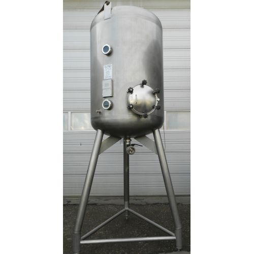 Pressure tank in AISI 304 2000 litres,