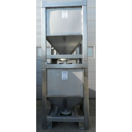 Storage tank in AISI 304, 1280 liters,