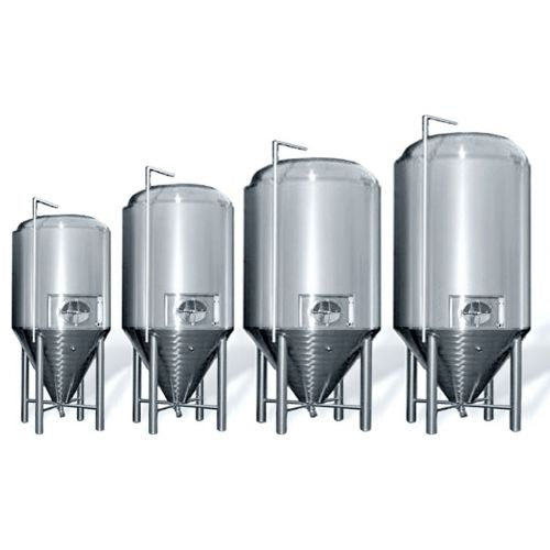 ZKG tank for beer in AISI 304, 1000-15000 litres,