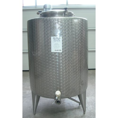 Mixing Tank/ Tank with agitator/ Storage Tank BOLZ 900 Litre in AISI 304