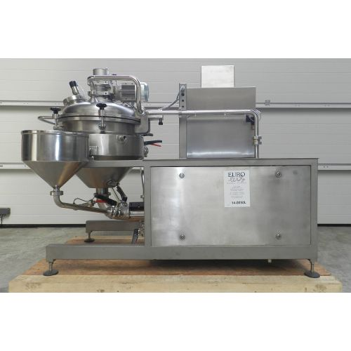 vacuum processing plant type A-50,