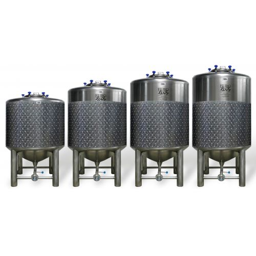 Eurolux Beer Tanks / Fermentation Tanks in AISI 304 Capacity: 1200 Litres