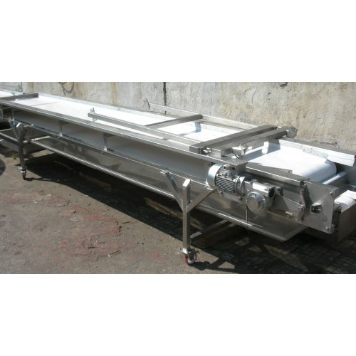 Sorting Conveyor in Stainless Steel For Grapes and other Fruits