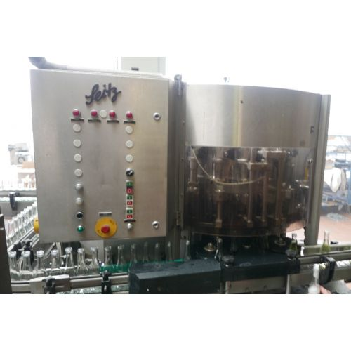 Piccolo Sparkling Wine Filling Line Capacity approx. 3500 Bottles/h