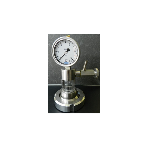 ventilation latern withwith manometer DN 50