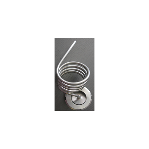 Blind cap with spiral in stainless steel DN25 NEW