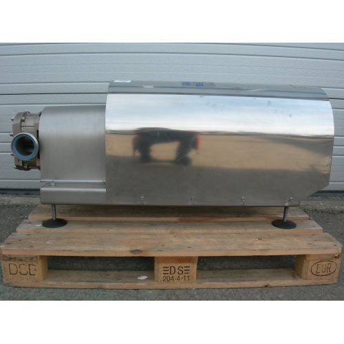 Eccentric Rotor Pump in Stainless Steel with Cover on Frame
