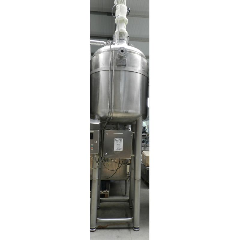 vessel for melting 1.000 litres for cosmetic and food stuff