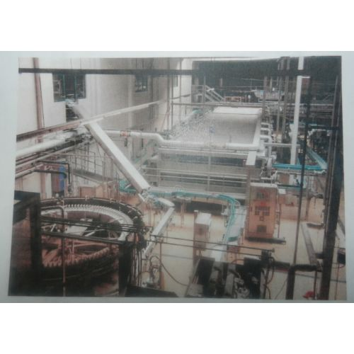 Can filling line 90.000 cans/h for 0,25l / 60.000 cans/h for 0,33l