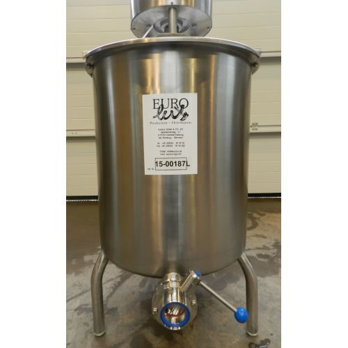 Saline Solution Tank 140 Litre in AISI 304