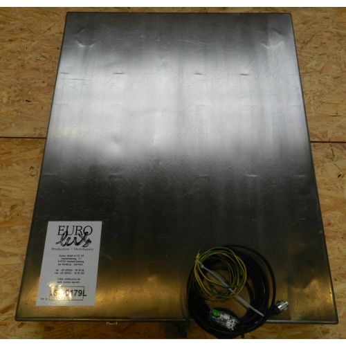 Ground Floor Scale in Stainless Steel