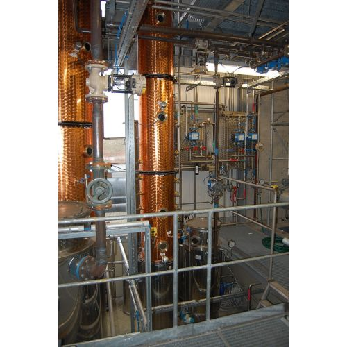 Distillation 15.000 liters/24 hours 96,3 Vol%