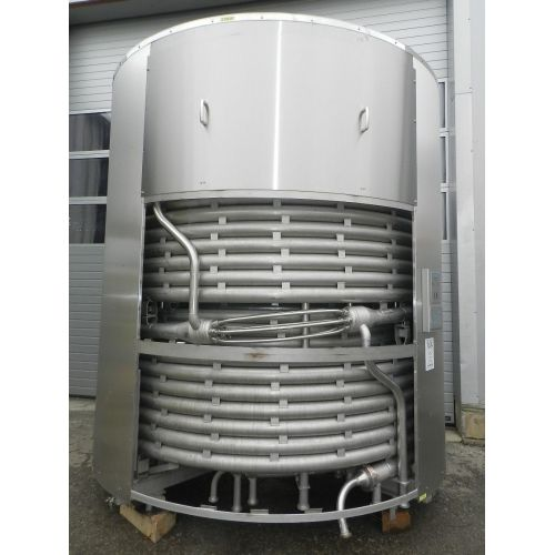 Tubular Flow Sterilizer for milk, fruit juice etc.