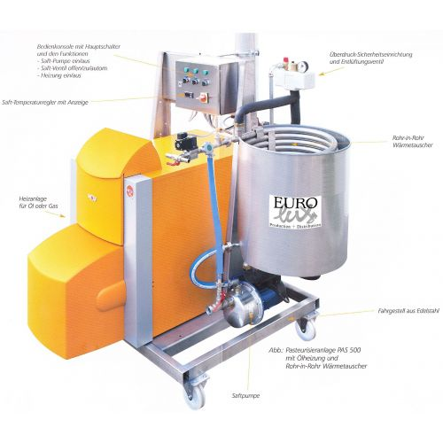 Pasteurizing Machine EL-1000
