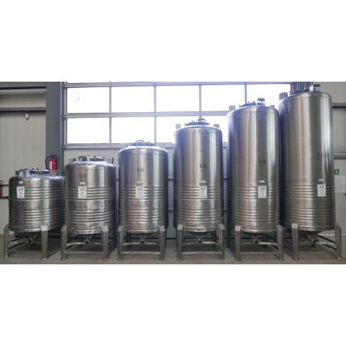 1500 Litres Storage Tank / Beer Tank/ Pressure Tank in AISI 304