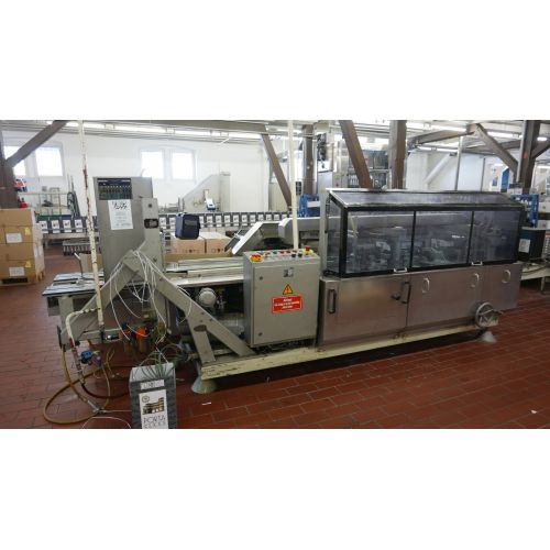 Cardboard fold and glue machine KETTNER