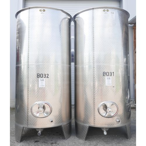 5.800 Litres Storage Tank top open in V2A