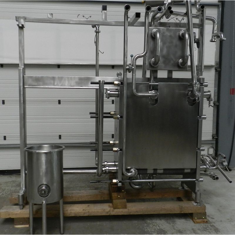 Tube Heating Exchanger / Heating Plant GEA OHT3