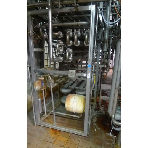 Tube Heat Exchanger / Heating Plant GEA
