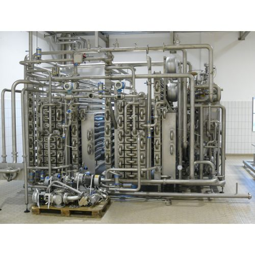 UHT-plant tube heat exchanger for juice,