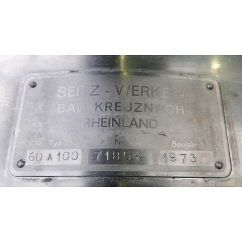 Sheet filter, Plate Filter Seitz Orion Type 60A100