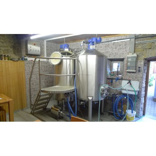 Brew House 5 hl Vol./brewery process
