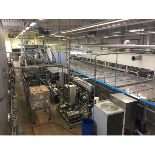 Can filling line CSD 20.000 - 34.000 cans / hour