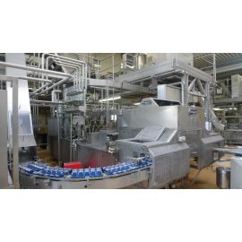 dairy packing and palletiser